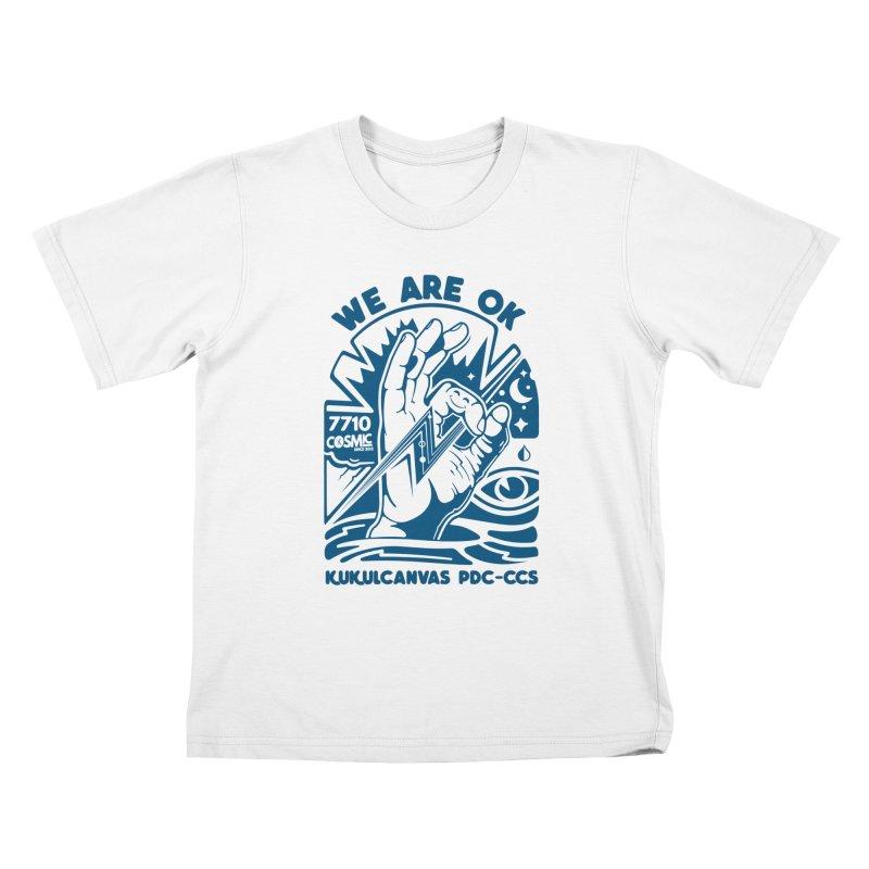WE ARE OK Kids T-Shirt by kukulcanvas's Artist Shop