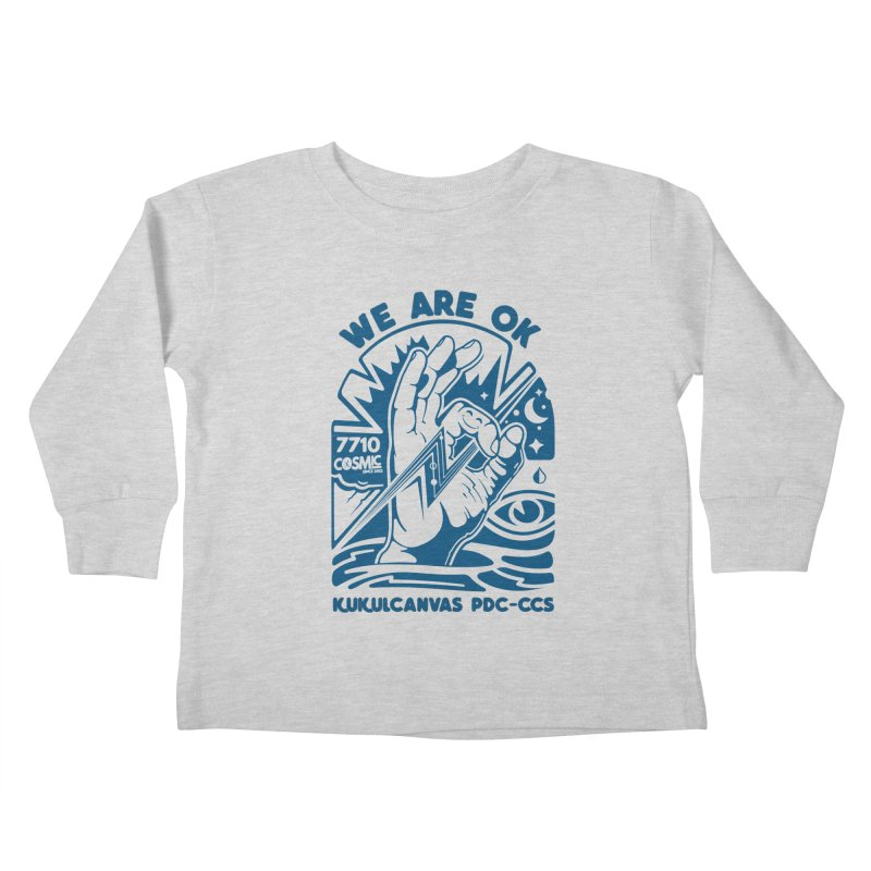 WE ARE OK Kids Toddler Longsleeve T-Shirt by kukulcanvas's Artist Shop