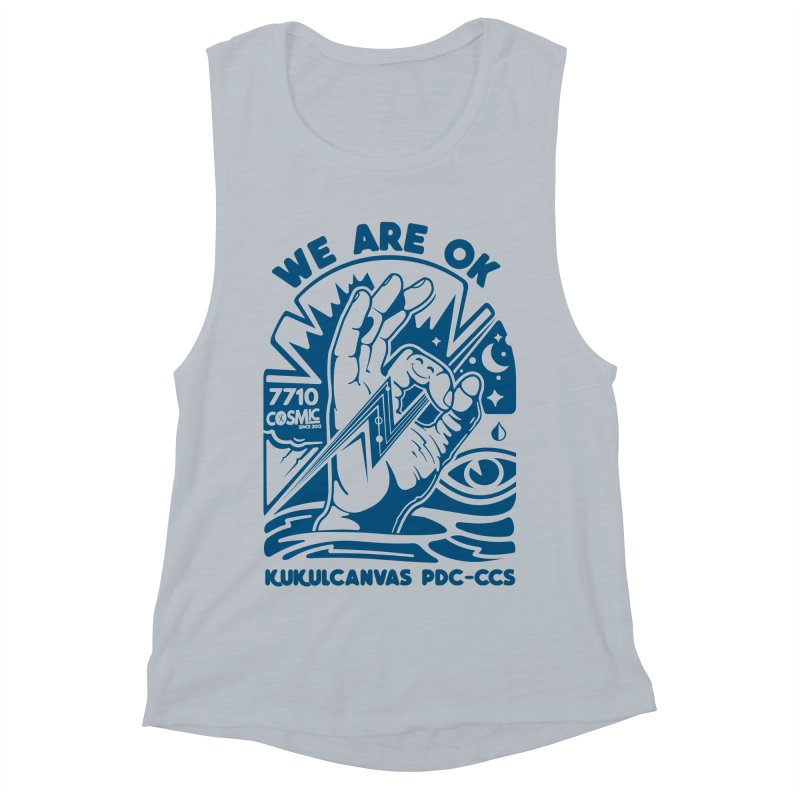 WE ARE OK Women's Muscle Tank by kukulcanvas's Artist Shop