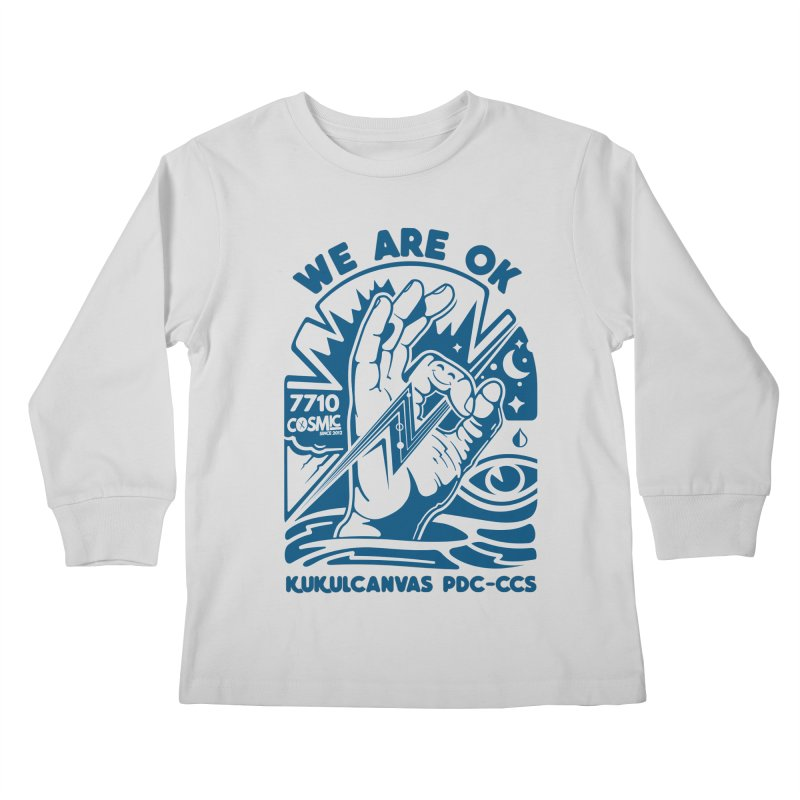 WE ARE OK Kids Longsleeve T-Shirt by kukulcanvas's Artist Shop