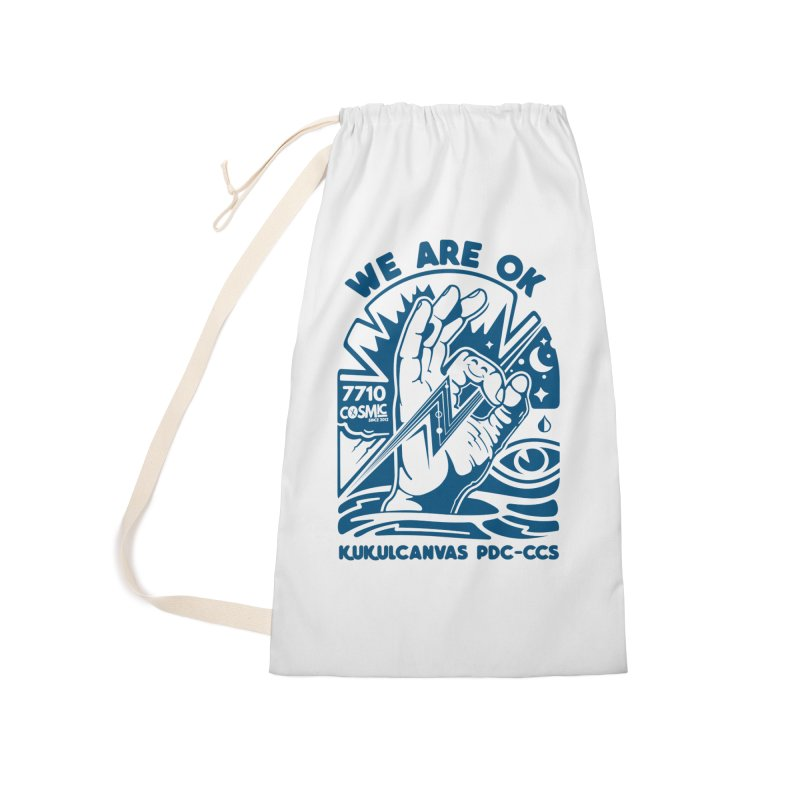 WE ARE OK Accessories Bag by kukulcanvas's Artist Shop