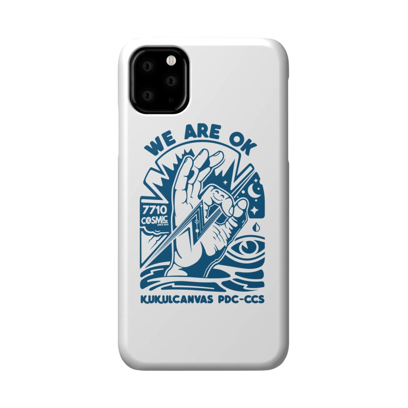 WE ARE OK Accessories Phone Case by kukulcanvas's Artist Shop