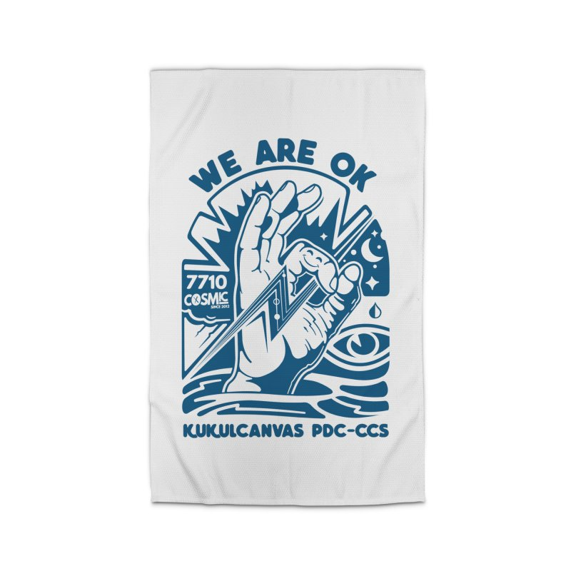 WE ARE OK Home Rug by kukulcanvas's Artist Shop