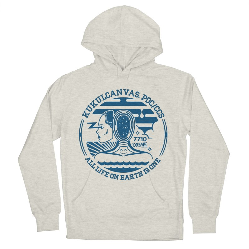 ALL LIFE Men's French Terry Pullover Hoody by kukulcanvas's Artist Shop