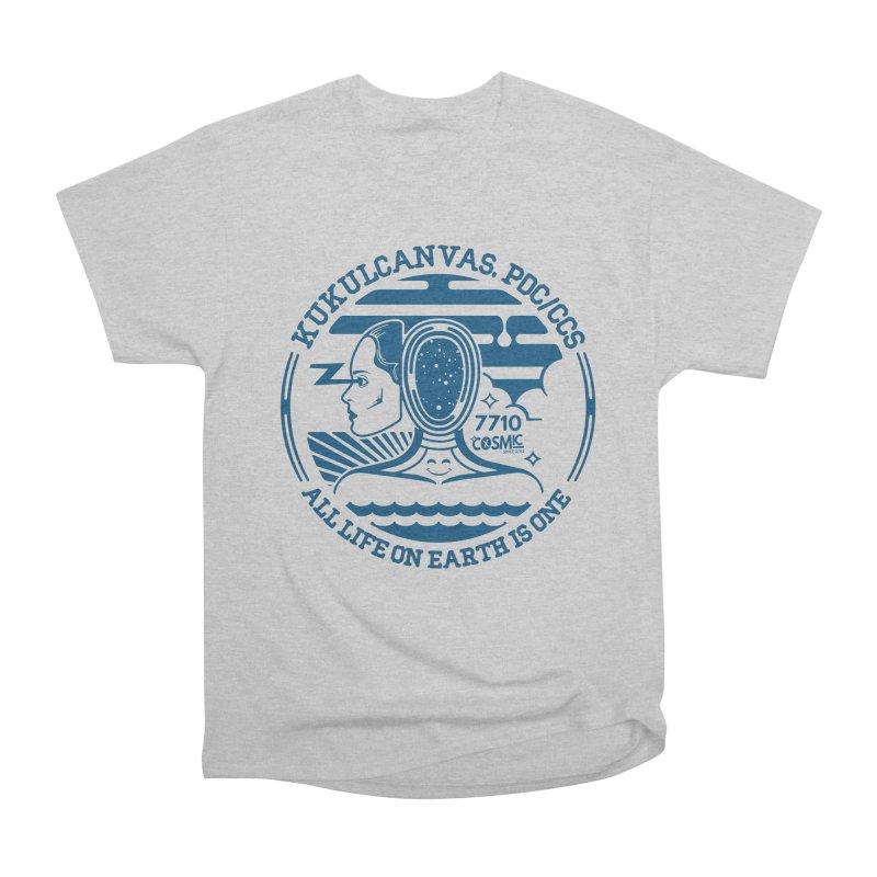 ALL LIFE Women's Heavyweight Unisex T-Shirt by kukulcanvas's Artist Shop