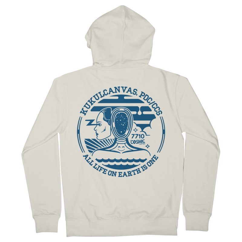 ALL LIFE Women's French Terry Zip-Up Hoody by kukulcanvas's Artist Shop