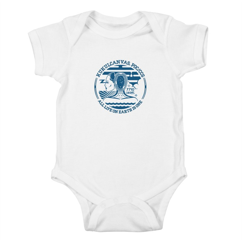 ALL LIFE Kids Baby Bodysuit by kukulcanvas's Artist Shop