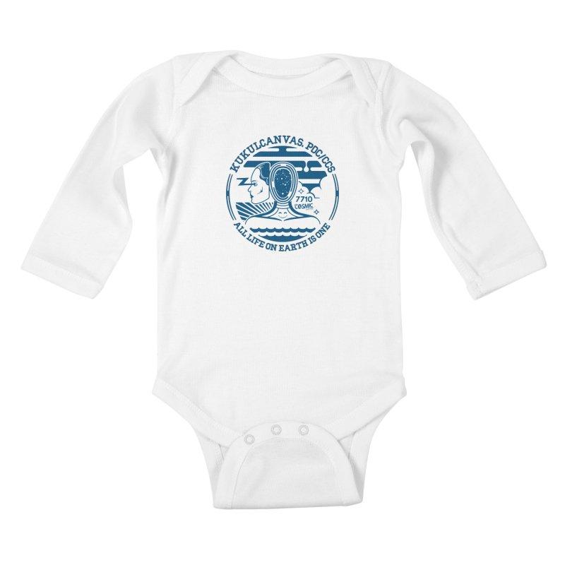 ALL LIFE Kids Baby Longsleeve Bodysuit by kukulcanvas's Artist Shop