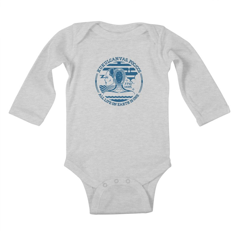 ALL LIFE Kids Baby Longsleeve Bodysuit by kukulcanvas's Artist Shop