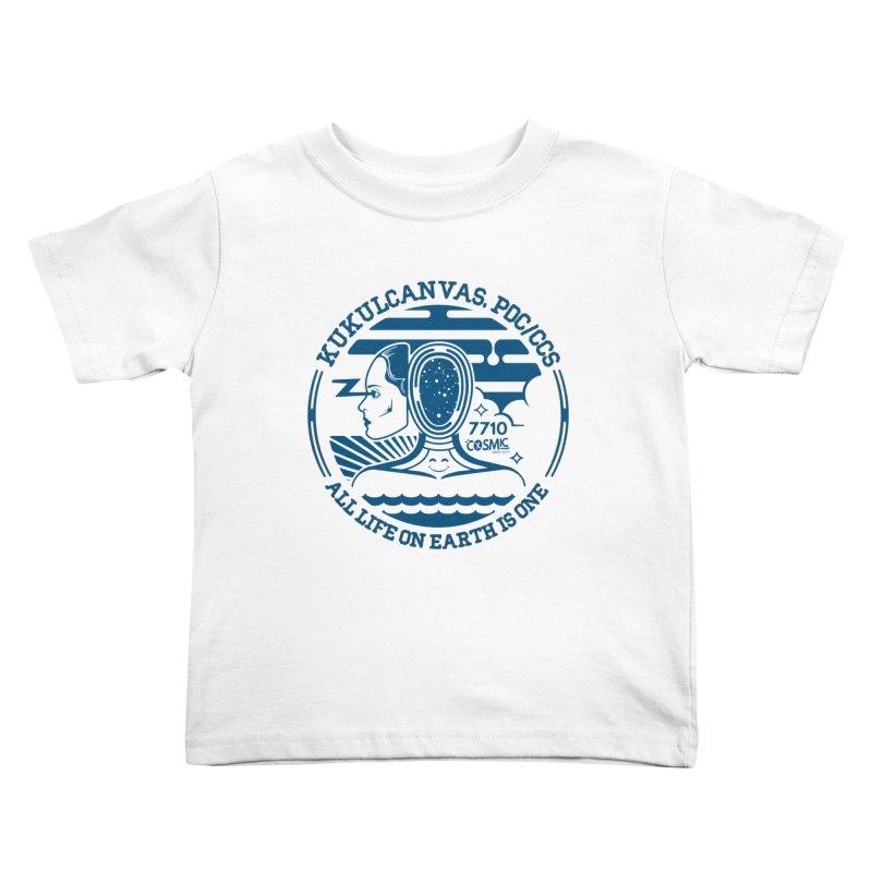 ALL LIFE Kids Toddler T-Shirt by kukulcanvas's Artist Shop