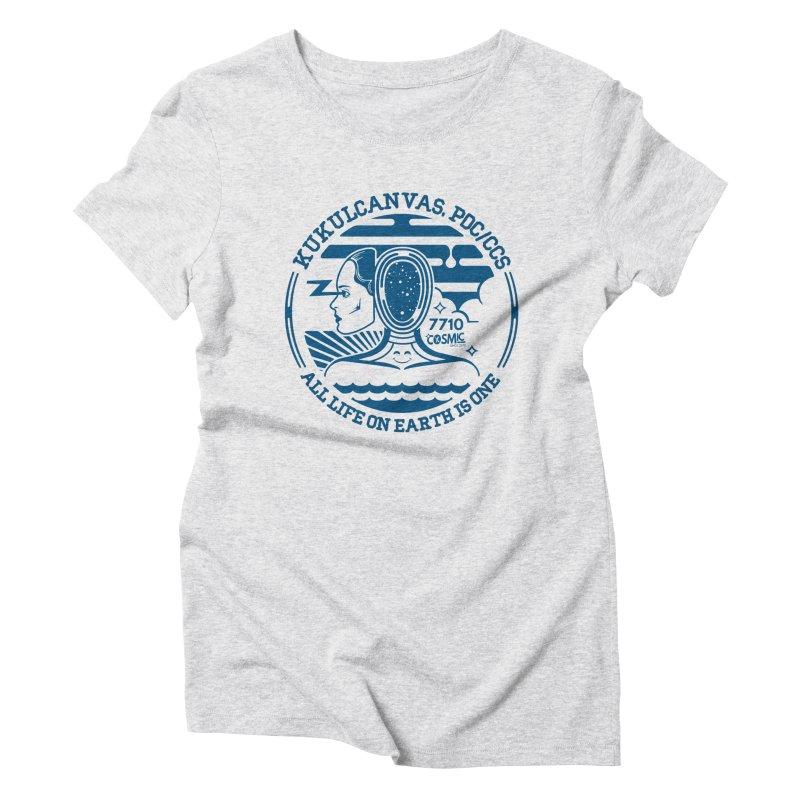 ALL LIFE Women's T-Shirt by kukulcanvas's Artist Shop