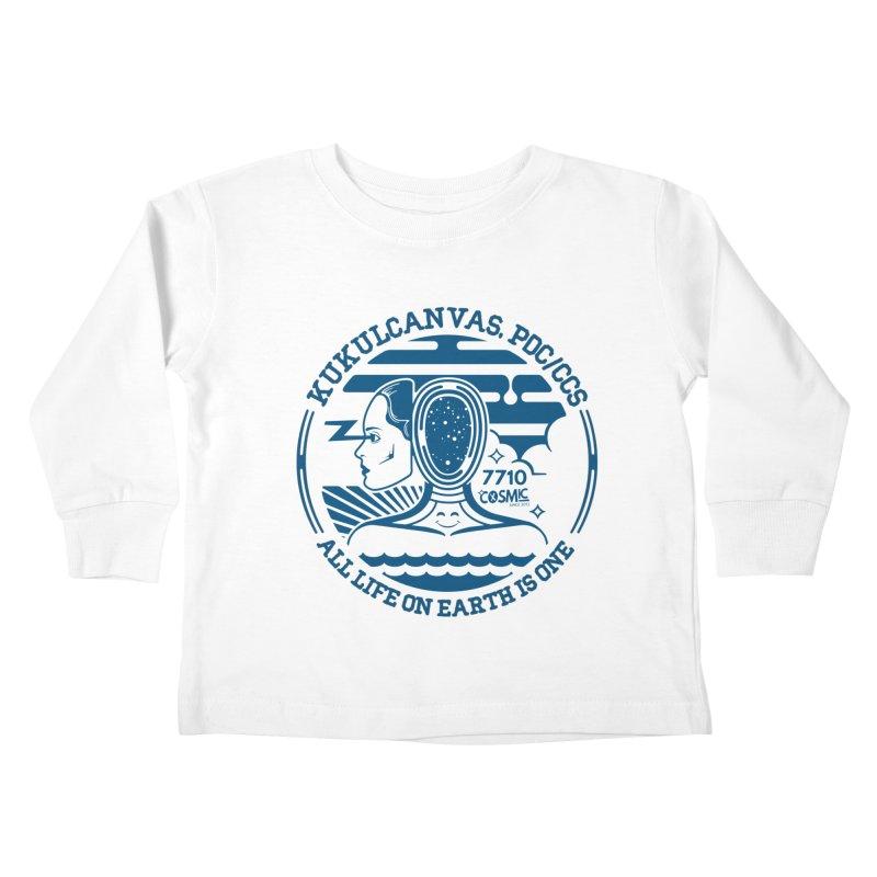 ALL LIFE Kids Toddler Longsleeve T-Shirt by kukulcanvas's Artist Shop