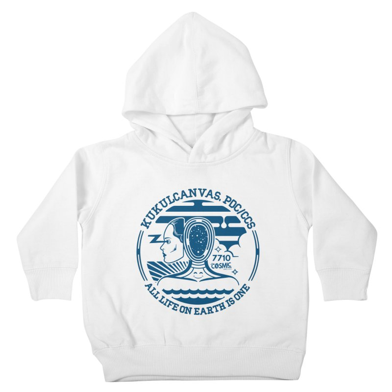 ALL LIFE Kids Toddler Pullover Hoody by kukulcanvas's Artist Shop