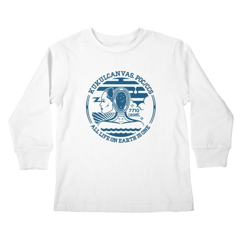 ALL LIFE Kids Longsleeve T-Shirt by kukulcanvas's Artist Shop