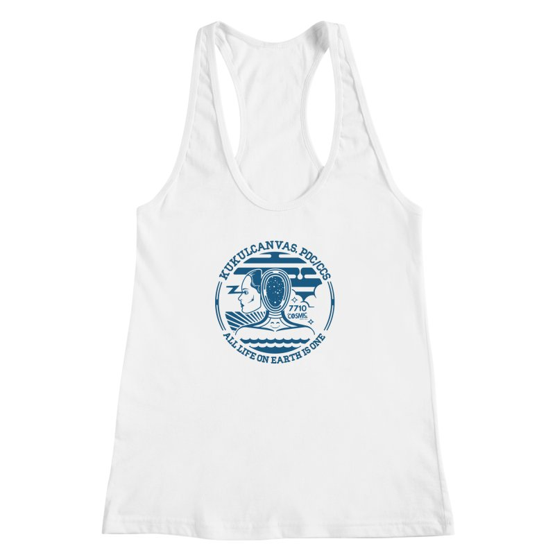 ALL LIFE Women's Racerback Tank by kukulcanvas's Artist Shop