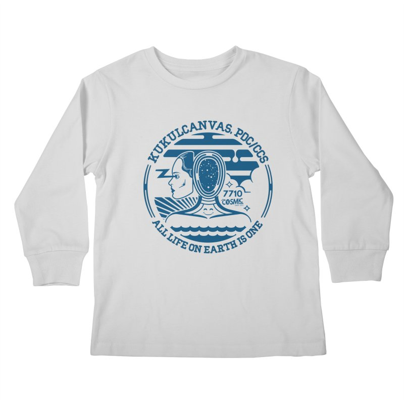ALL LIFE Kids Longsleeve T-Shirt by kukulcanvas's Artist Shop