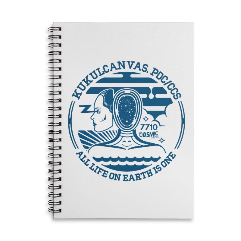 ALL LIFE Accessories Notebook by kukulcanvas's Artist Shop