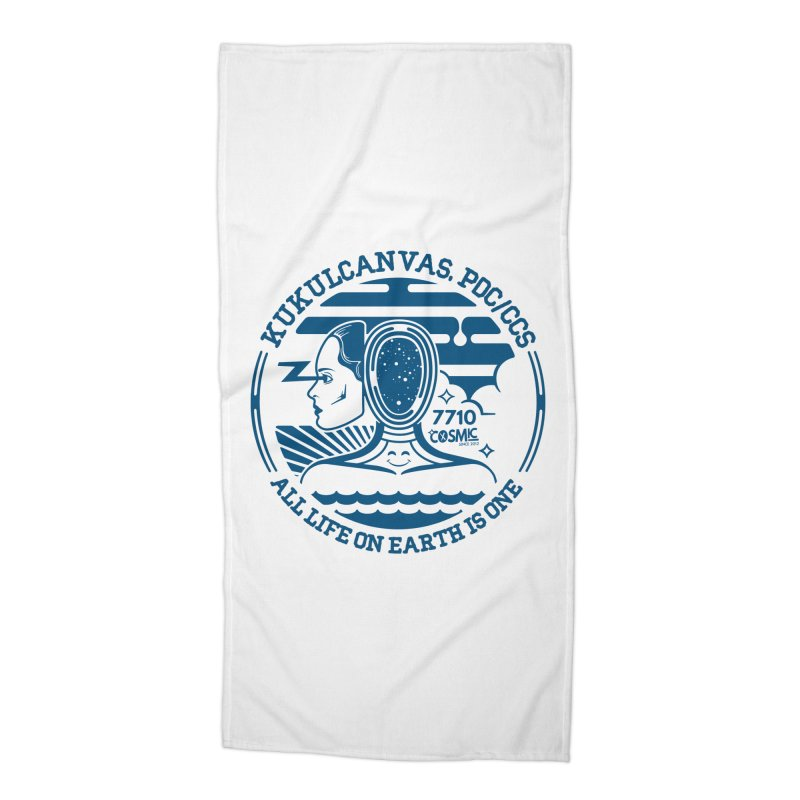 ALL LIFE Accessories Beach Towel by kukulcanvas's Artist Shop