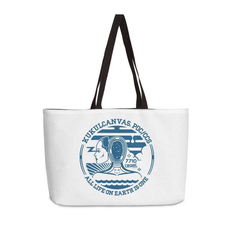 ALL LIFE Accessories Weekender Bag Bag by kukulcanvas's Artist Shop