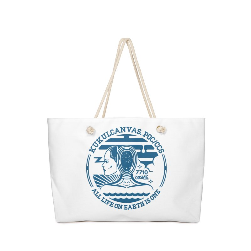 ALL LIFE Accessories Bag by kukulcanvas's Artist Shop