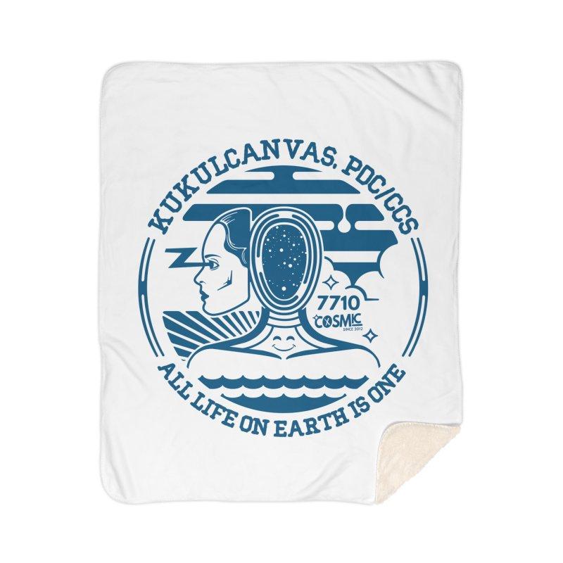 ALL LIFE Home Sherpa Blanket Blanket by kukulcanvas's Artist Shop