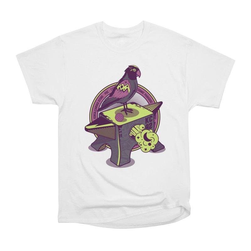 YUNQUE Men's Heavyweight T-Shirt by kukulcanvas's Artist Shop