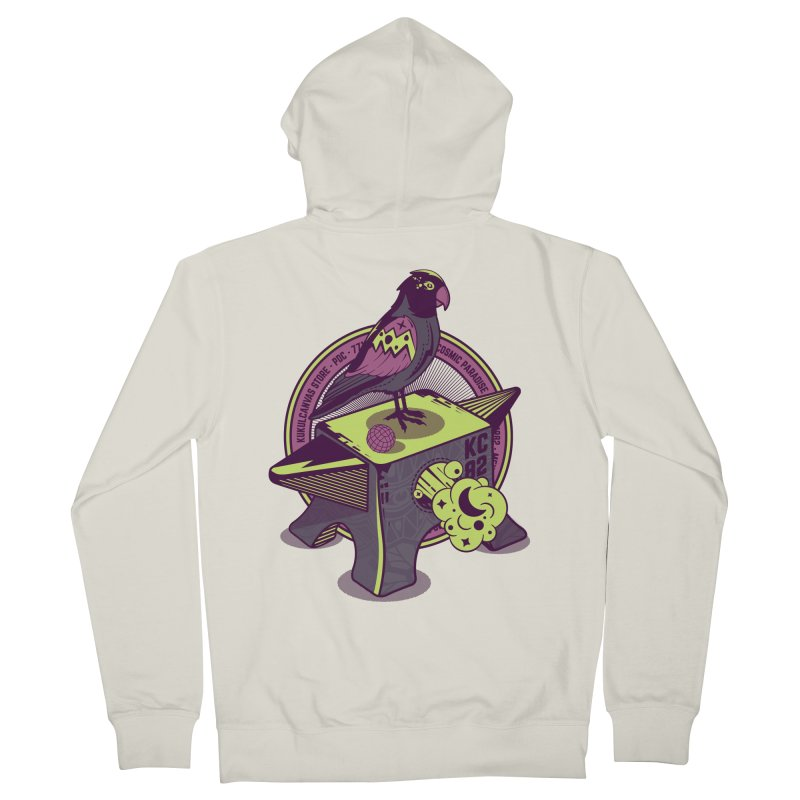 YUNQUE Women's French Terry Zip-Up Hoody by kukulcanvas's Artist Shop