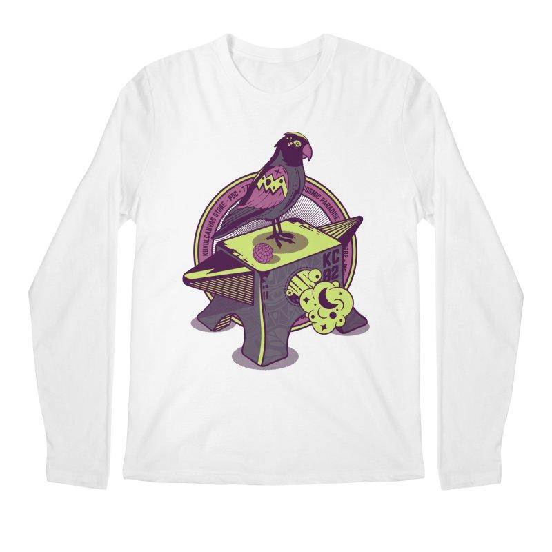 YUNQUE Men's Regular Longsleeve T-Shirt by kukulcanvas's Artist Shop