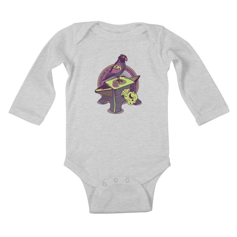 YUNQUE Kids Baby Longsleeve Bodysuit by kukulcanvas's Artist Shop