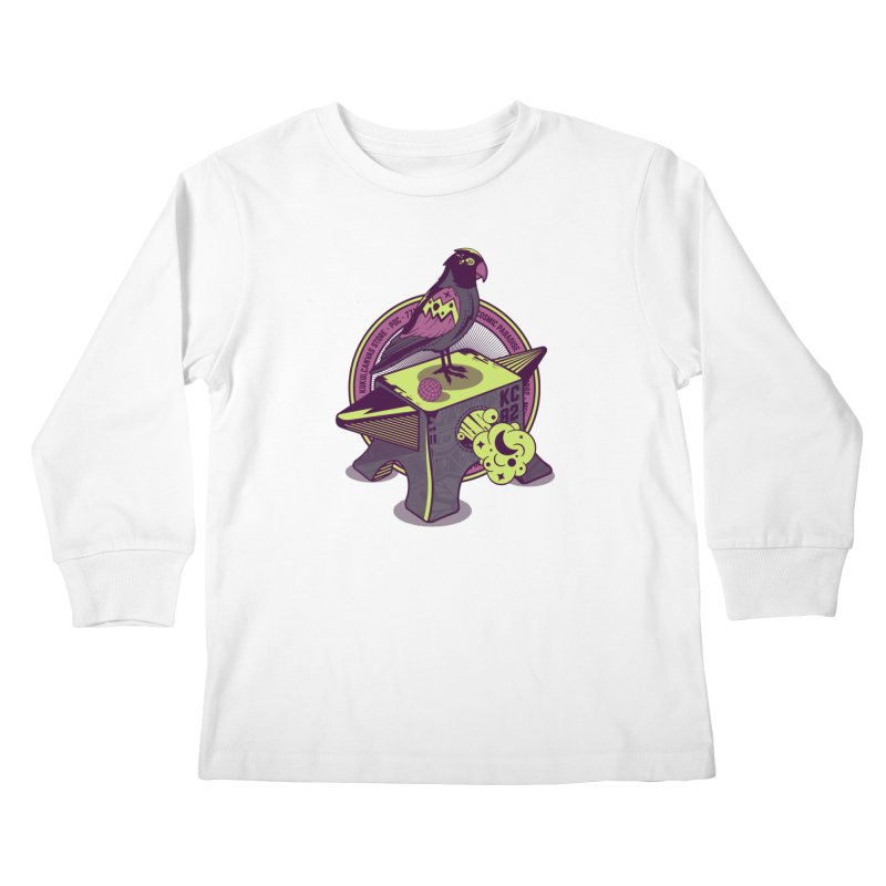 YUNQUE Kids Longsleeve T-Shirt by kukulcanvas's Artist Shop