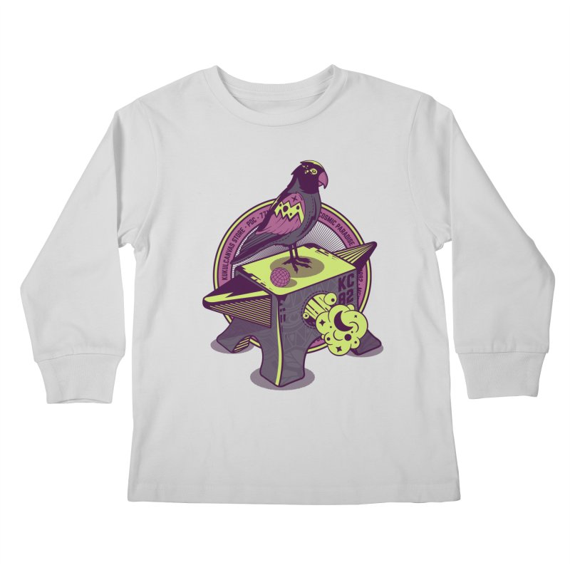 YUNQUE Kids Longsleeve T-Shirt by kukulcanvas's Artist Shop