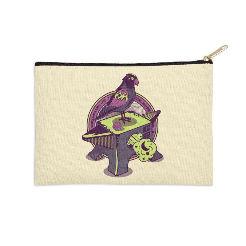 YUNQUE Accessories Zip Pouch by kukulcanvas's Artist Shop