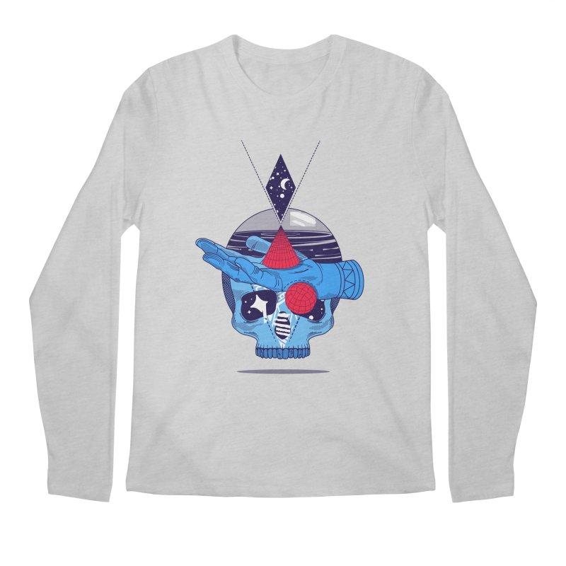 GEOMETRIA SILVESTRE Men's Longsleeve T-Shirt by kukulcanvas's Artist Shop