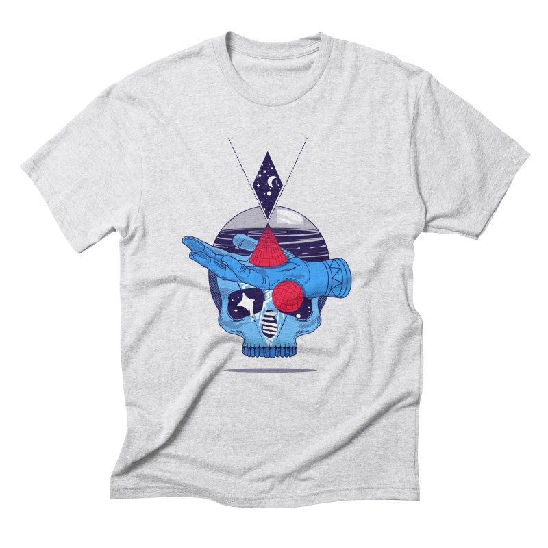 GEOMETRIA SILVESTRE Men's Triblend T-Shirt by kukulcanvas's Artist Shop