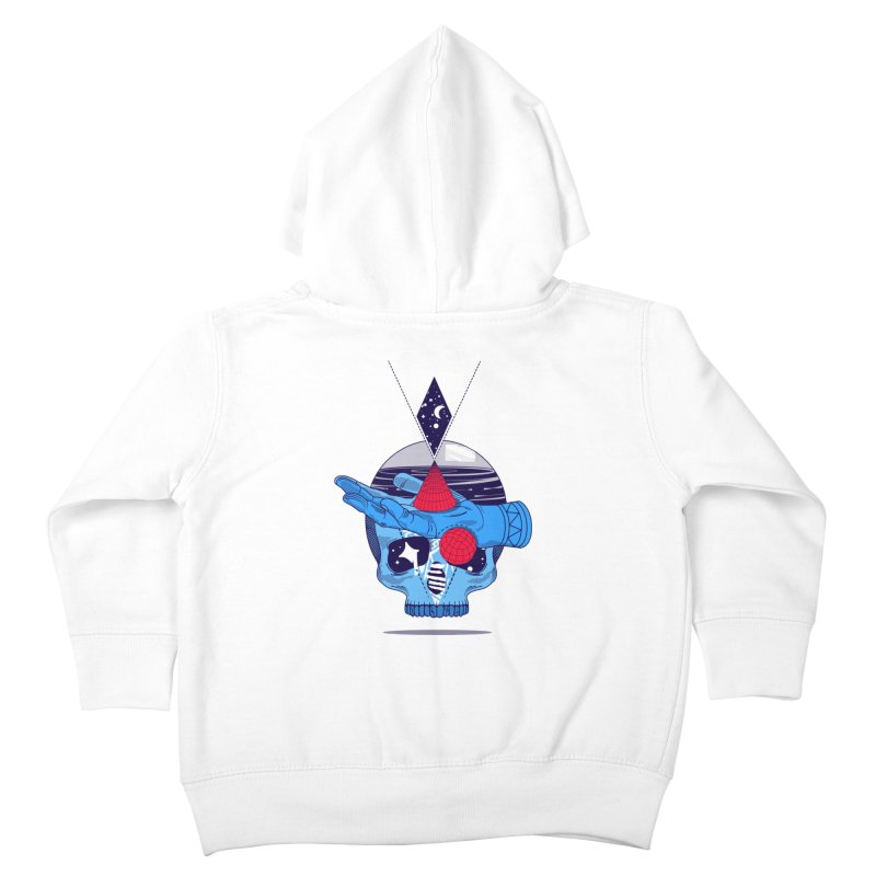 GEOMETRIA SILVESTRE Kids Toddler Zip-Up Hoody by kukulcanvas's Artist Shop