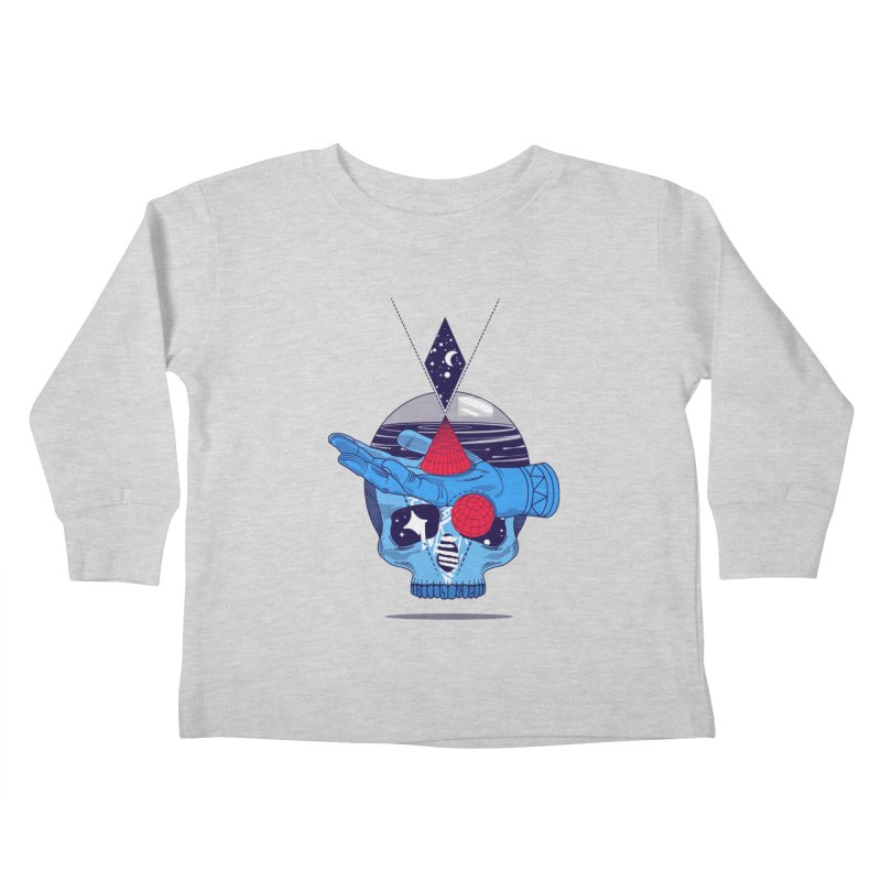 GEOMETRIA SILVESTRE Kids Toddler Longsleeve T-Shirt by kukulcanvas's Artist Shop