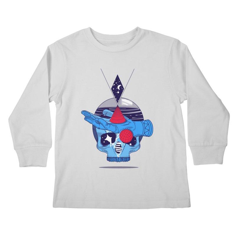 GEOMETRIA SILVESTRE Kids Longsleeve T-Shirt by kukulcanvas's Artist Shop