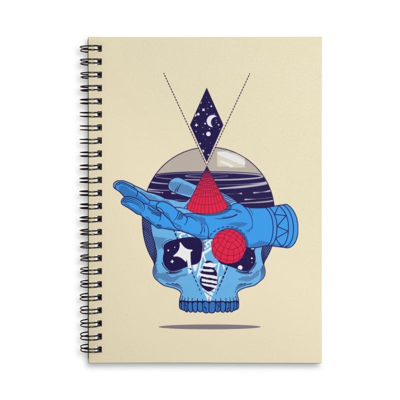 GEOMETRIA SILVESTRE Accessories Lined Spiral Notebook by kukulcanvas's Artist Shop