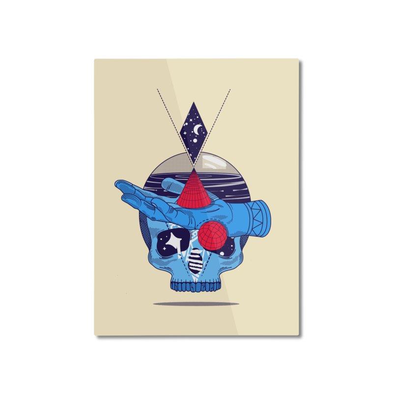 GEOMETRIA SILVESTRE Home Mounted Aluminum Print by kukulcanvas's Artist Shop