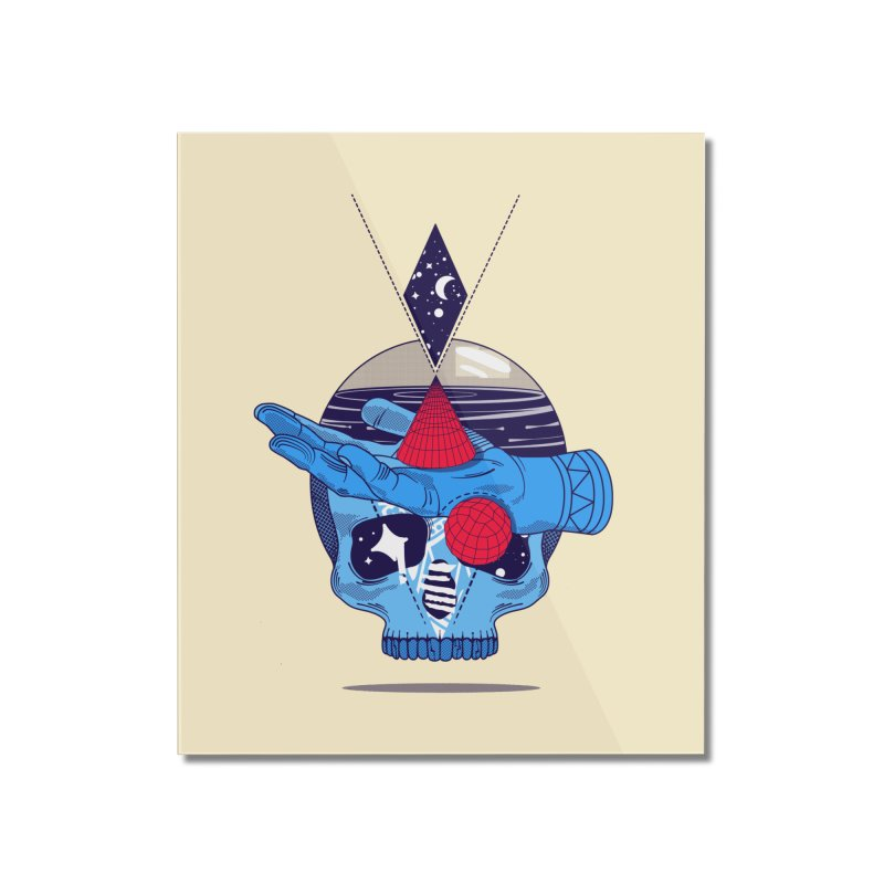 GEOMETRIA SILVESTRE Home Mounted Acrylic Print by kukulcanvas's Artist Shop