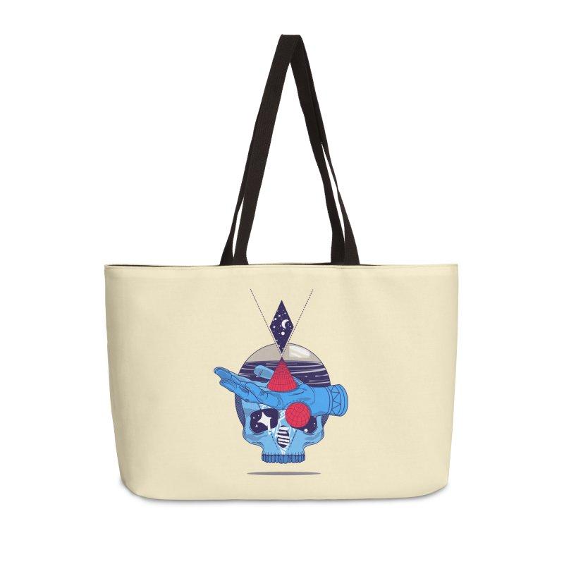 GEOMETRIA SILVESTRE Accessories Weekender Bag Bag by kukulcanvas's Artist Shop