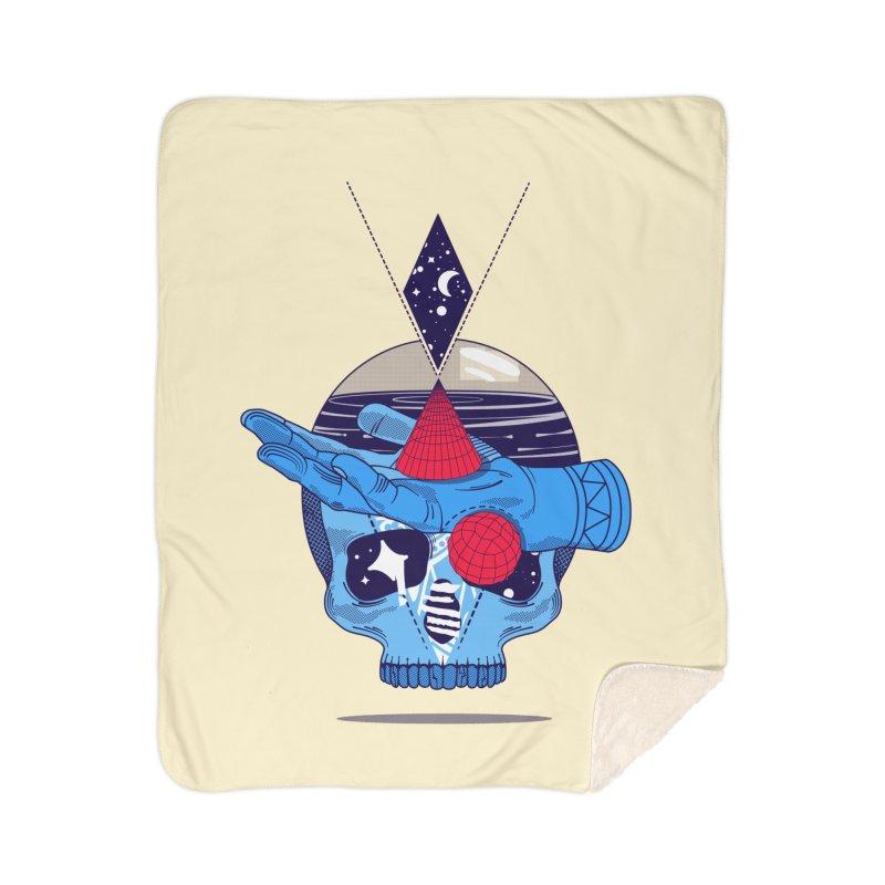 GEOMETRIA SILVESTRE Home Sherpa Blanket Blanket by kukulcanvas's Artist Shop