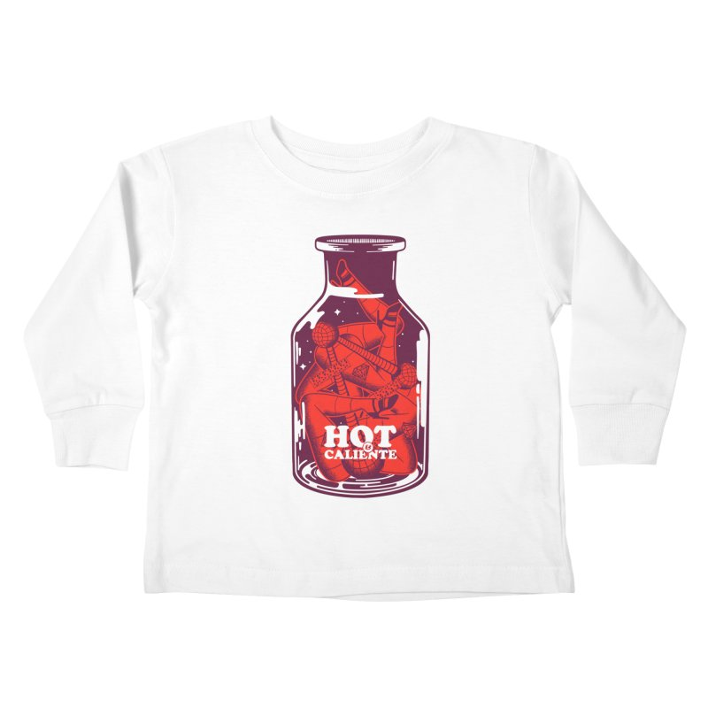 HOT & CALIENTE Kids Toddler Longsleeve T-Shirt by kukulcanvas's Artist Shop