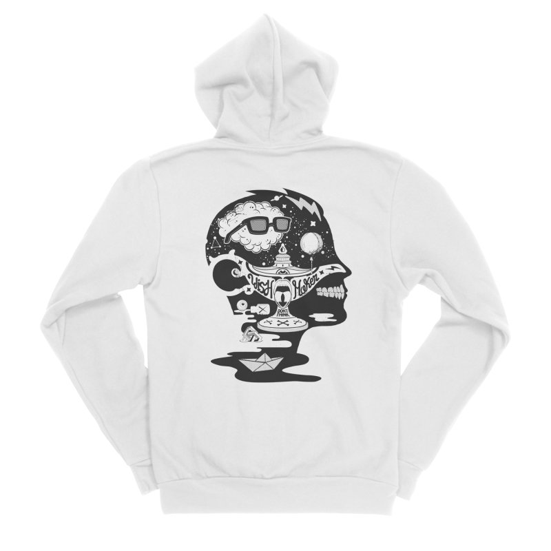 WISH MAKER Men's Zip-Up Hoody by kukulcanvas's Artist Shop