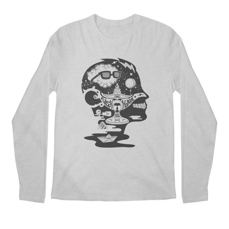 WISH MAKER Men's Longsleeve T-Shirt by kukulcanvas's Artist Shop