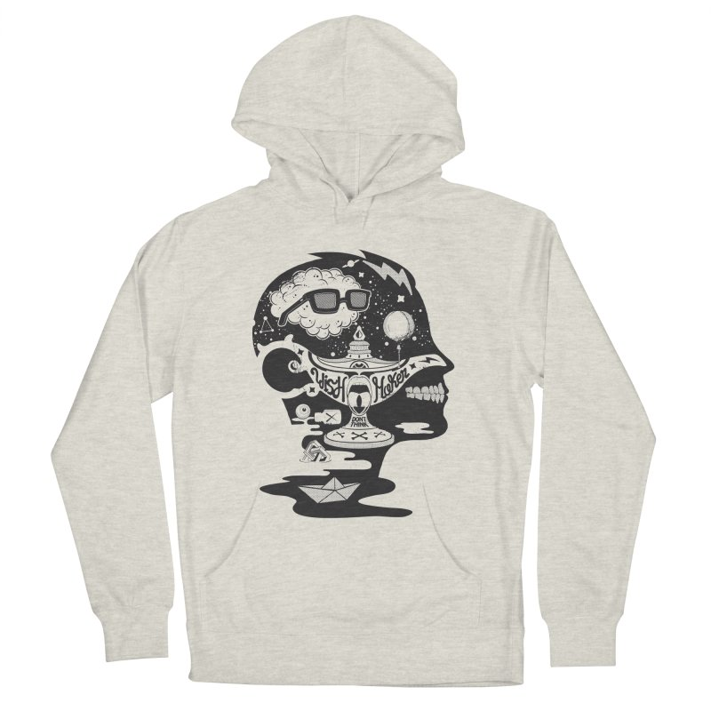 WISH MAKER Men's French Terry Pullover Hoody by kukulcanvas's Artist Shop