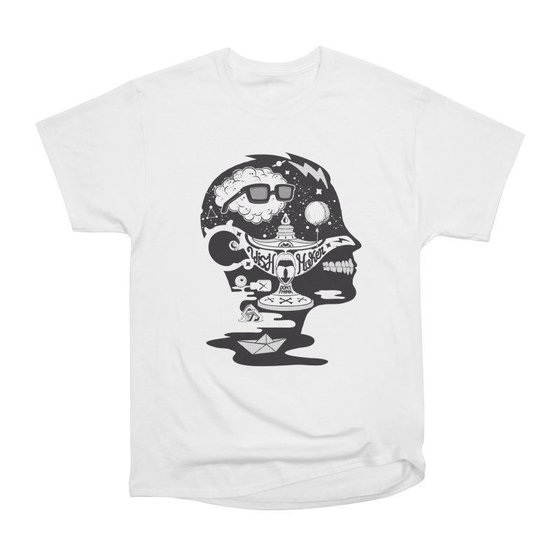 WISH MAKER Men's Heavyweight T-Shirt by kukulcanvas's Artist Shop