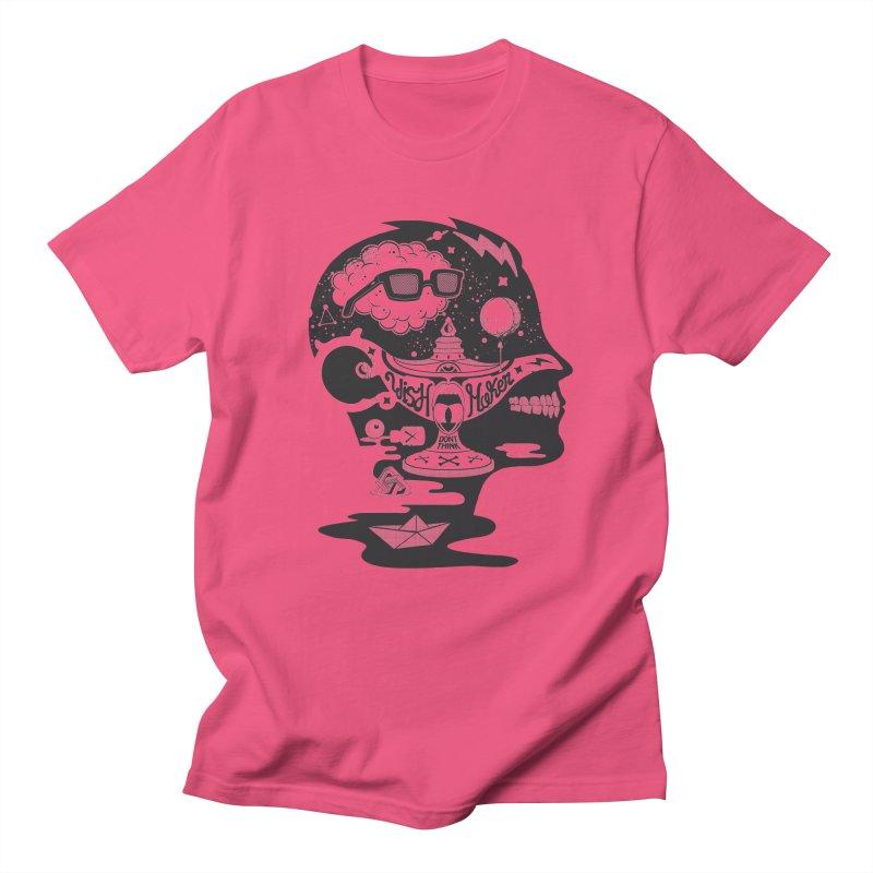 WISH MAKER Men's T-Shirt by kukulcanvas's Artist Shop