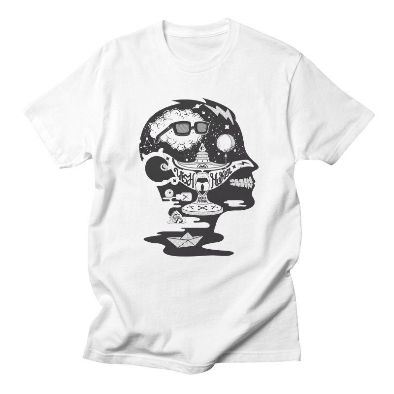 WISH MAKER Men's T-Shirt by kukulcanvas's Artist Shop