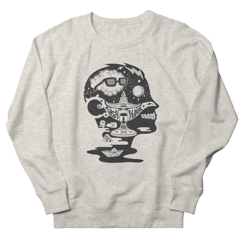 WISH MAKER Women's French Terry Sweatshirt by kukulcanvas's Artist Shop